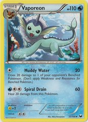 Vaporeon - 25/108 - Promotional - Crosshatch Holo North American State/Province/Territory Championships Staff 2012