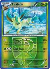 Leafeon - 11/116 - Promotional - Crosshatch Holo North American State/Province/Territory Champions 2013 Promo