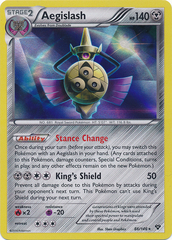 Aegislash - 86/146 - Promotional - XY Staff Stamp Prerelease Promo on Channel Fireball