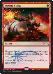 Magma Spray - Foil FNM 2014