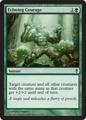 Echoing Courage - Foil