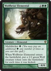Wolfbriar Elemental - Foil