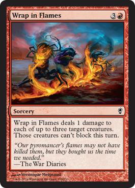 Wrap in Flames - Foil
