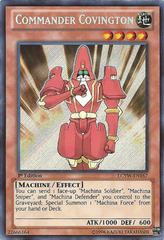 Commander Covington - LCYW-EN167 - Secret Rare - Unlimited Edition
