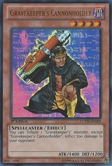 Gravekeeper's Cannonholder - LCYW-EN188 - Ultra Rare - Unlimited Edition