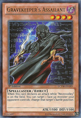 Gravekeeper's Assailant - LCYW-EN189 - Ultra Rare - Unlimited Edition