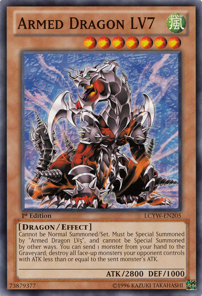 Armed Dragon LV7 - LCYW-EN205 - Common - Unlimited Edition