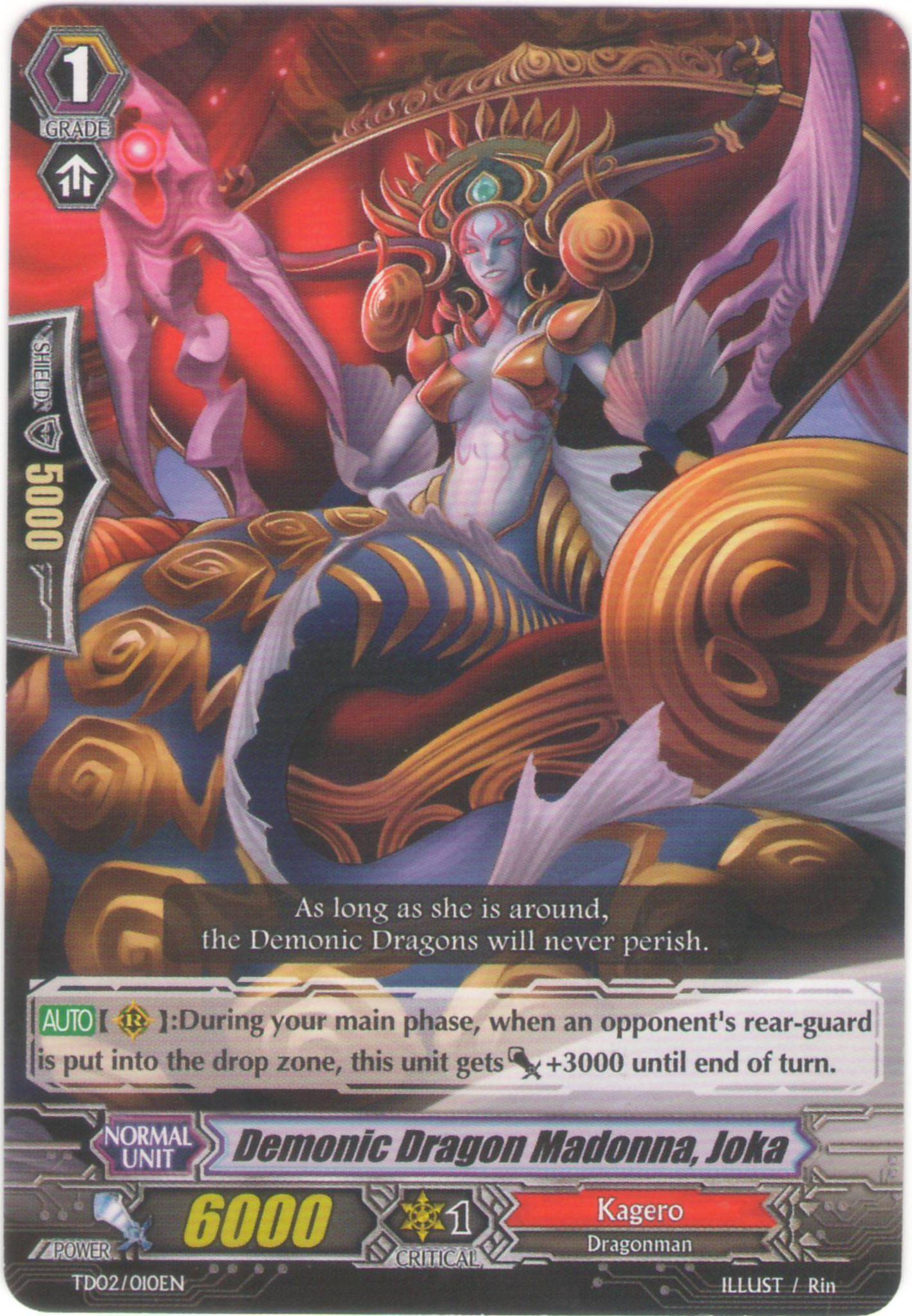Demonic Dragon Madonna, Joka - EB09/026EN - C