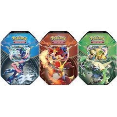 Pokemon 2014 Kalos Power Set of 3 Tins