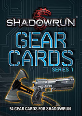 Shadowrun Gear Cards, Series 1