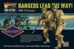 Bolt Action WWII Rangers lead the way! US Rangers plastic boxed set