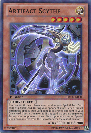 Artifact Scythe - PRIO-EN000 - Super Rare - Unlimited Edition