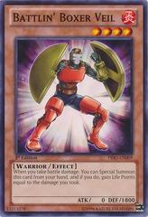 Battlin' Boxer Veil - PRIO-EN009 - Common - Unlimited Edition on Channel Fireball
