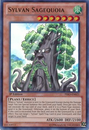 Sylvan Sagequoia - PRIO-EN021 - Ultra Rare - Unlimited Edition