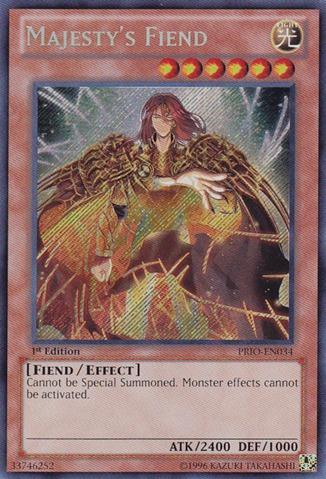 Majestys Fiend - PRIO-EN034 - Secret Rare - Unlimited Edition
