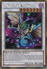 Ancient Pixie Dragon - PGLD-EN006 - Gold Secret Rare - Unlimited Edition