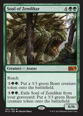 Soul of Zendikar - Foil