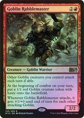 Goblin Rabblemaster - Foil
