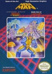 Mega Man (Oval Seal)
