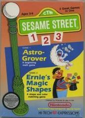 Sesame Street 123 (Round Seal)