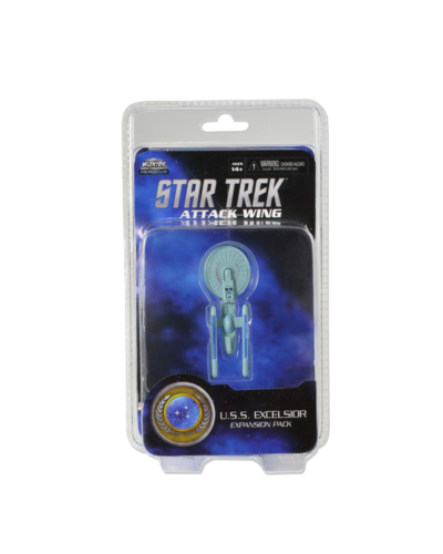 Attack Wing: Star Trek - U.S.S. Excelsior Expansion Pack