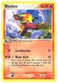 Blaziken - 20/110 - Rare