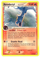 Aerodactyl - 35/110 - Uncommon on Channel Fireball