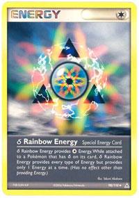 Delta Species Rainbow Energy - 98/110 - Uncommon