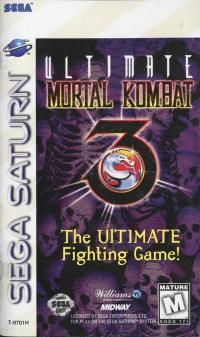 Ultimate Mortal Kombat 3 - Video Games » Sega » Sega Saturn - Wii ... 4972da4c5c38