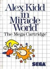Alex Kidd In Miracle World (Red Cartridge Label)