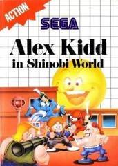 Alex Kidd In Shinobi World (Blue Cartridge Label)