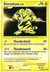 Electabuzz - 128/127 - Secret Rare on Channel Fireball