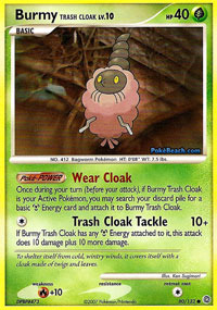 Burmy Trash Cloak - 80/132 - Common