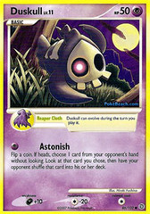 Duskull - 86/132 - Common