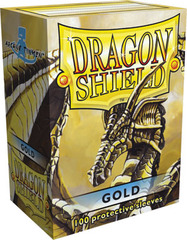 Dragon Shield Box of 100 in Matte Gold