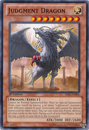 Judgment Dragon - SDLI-EN004 - Common - 1st Edition