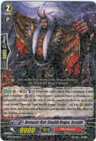 Demonic Hair Stealth Rogue, Grenjin  BT14/036 - R