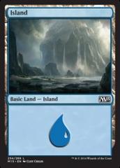 Island - Foil (254)(M15)