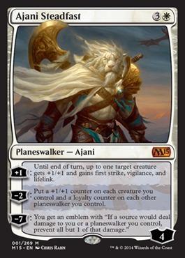 Ajani Steadfast - Foil