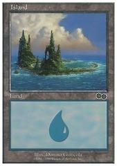 Island Urza's Saga/Trees on Left)