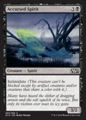 Accursed Spirit on Channel Fireball