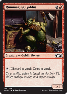 Rummaging Goblin - Foil
