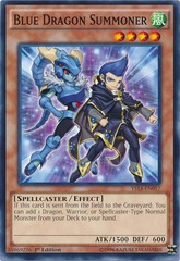 Blue Dragon Summoner - YS14-EN017 - Common - 1st Edition