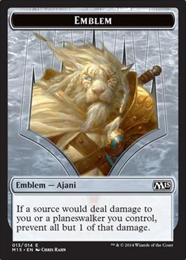 Emblem - Ajani Steadfast