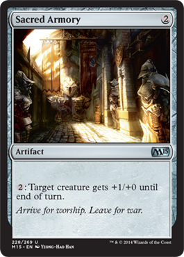 Sacred Armory - Foil