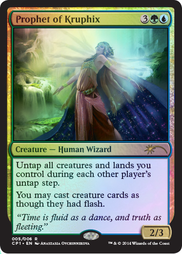 Prophet of Kruphix - Foil
