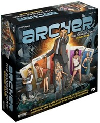 Archer: The Danger Zone! Board Game