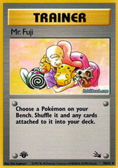 Mr. Fuji - 58 - -58/62 - Holo Rare - 1999-2000 Wizards Base Set Copyright