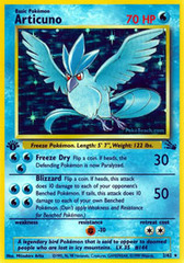 Articuno - 2/62 - Holo Rare - 1999-2000 Wizards Base Set Copyright