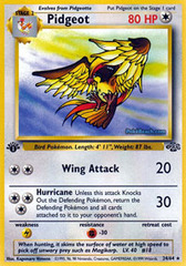 Pidgeot - 24/64 - Rare - 1999-2000 Wizards Base Set Copyright Edition